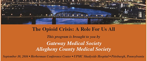 The Opioid Crisis: A Role For Us All | Department of