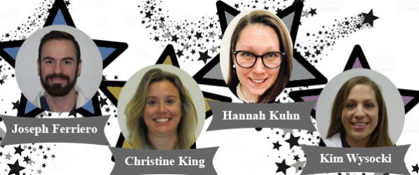 CRNAs Receive Star Awards | Department of Anesthesiology and